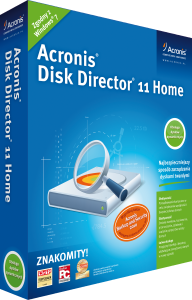 Acronis Disk Director 11 Home 1PC Recovery Expert